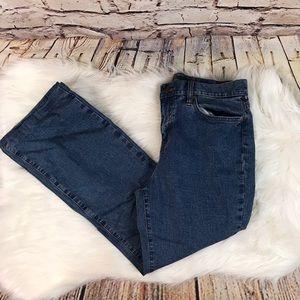 Lauren Ralph Lauren Mid Rise Boot Cut Jeans
